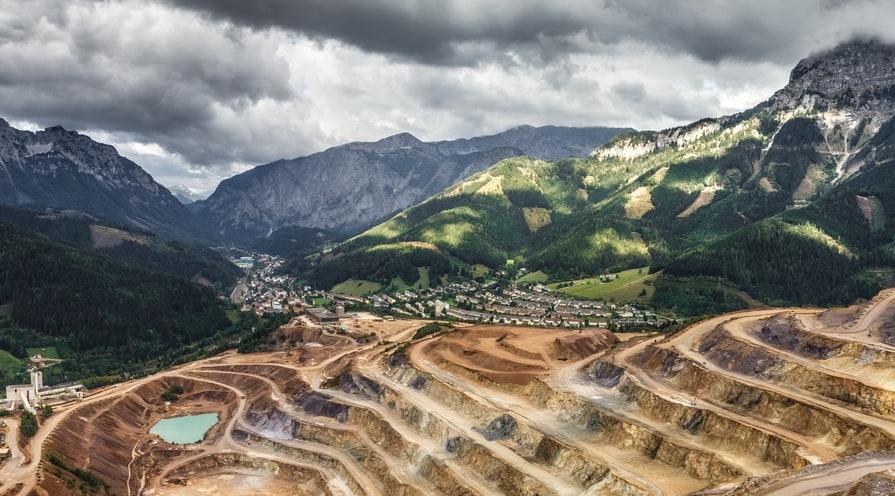 gruvbrytning av guld