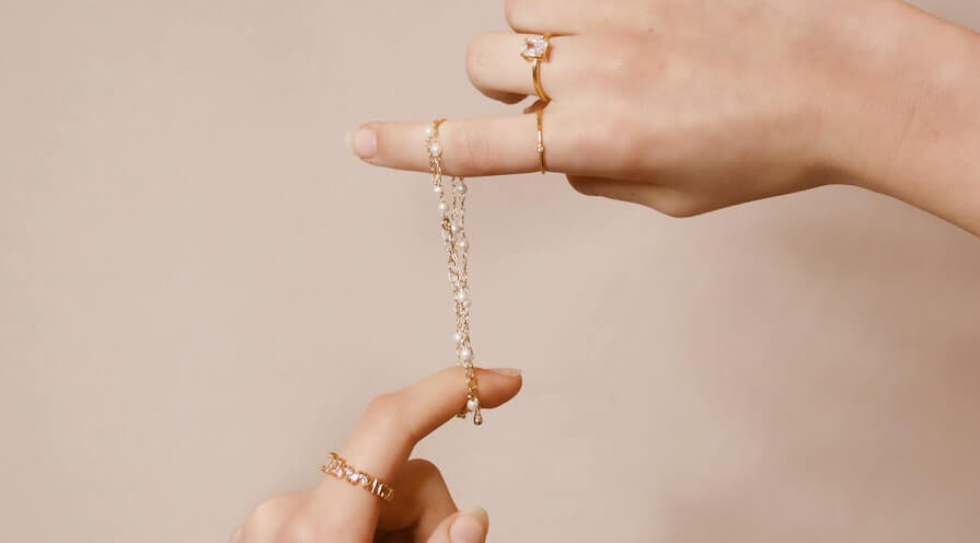 Unika och personliga smycken blir till verklighet hos en guldalliansmedlem
